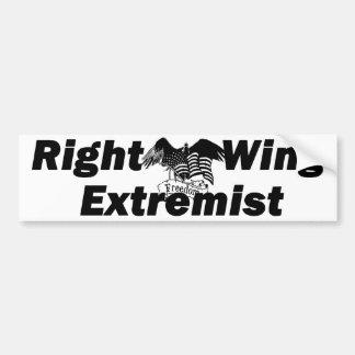 誇り高い右翼極端家 バンパーステッカー
