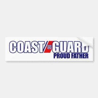 誇り高い沿岸警備隊の父 バンパーステッカー