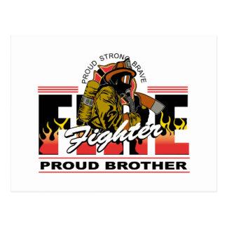 誇り高い消防士の兄弟 ポストカード