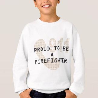 誇り高い消防士 スウェットシャツ