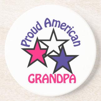 誇り高い祖父 コースター