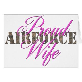 誇り高い空軍妻 カード