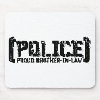 誇り高い義理の兄弟-ずたずたに裂かれる警察 マウスパッド