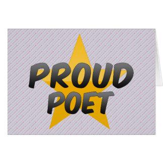 誇り高い詩人 カード