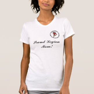 誇り高い軍隊のお母さん Tシャツ