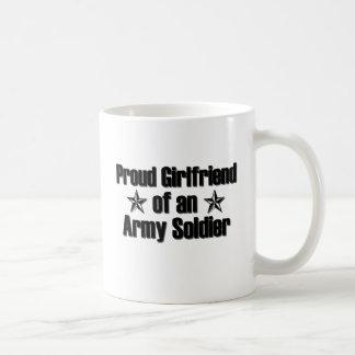 誇り高い軍隊のガールフレンド コーヒーマグカップ