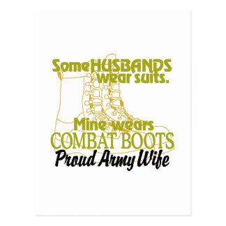 誇り高い軍隊の妻 ポストカード