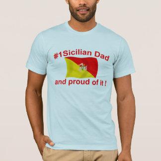 誇り高い#1シシリアのパパ Tシャツ