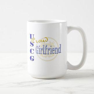 誇り高いUSCGのガールフレンド コーヒーマグカップ