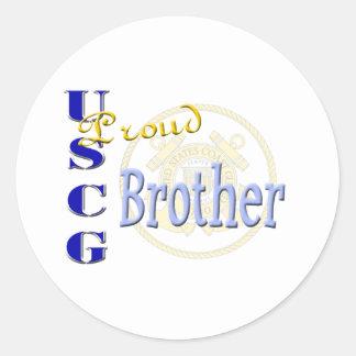 誇り高いUSCGの兄弟 ラウンドシール