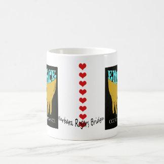 認識のな不調和の冥想的なうつわ コーヒーマグカップ