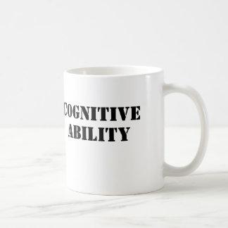 認識のな能力 コーヒーマグカップ