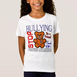 認識度のロゴをいじめることを止めて下さい Tシャツ
