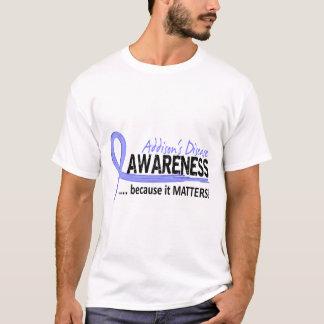 認識度2のAddisonの病気 Tシャツ