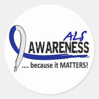 認識度2 ALS ラウンドシール