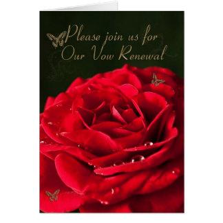 誓約の更新への招待状 カード