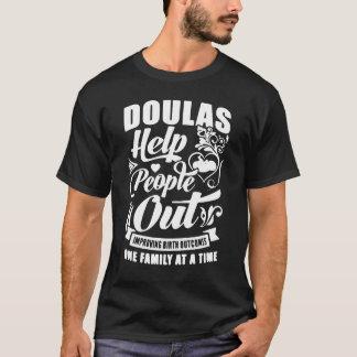 誕生の結果を改善しているDoulasの助けの人々 Tシャツ