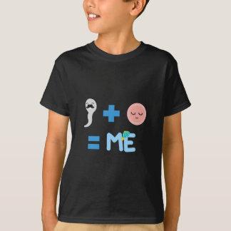 誕生プロセス子供のHanes TAGLESS®のTシャツ Tシャツ