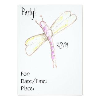 誕生会(またはパーティー)招待状 カード