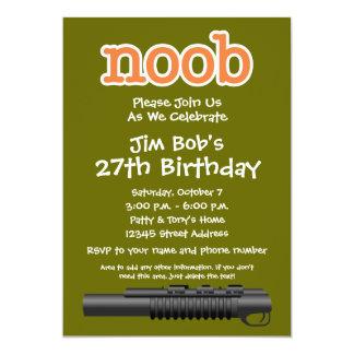 誕生会- Noobのおもしろいなゲーマー カード