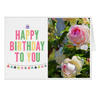 誕生日おめでとう挨拶状 カード