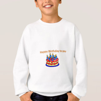 誕生日おめでとう スウェットシャツ