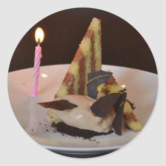 誕生日おめでとう! ラウンドシール