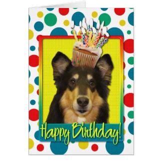 誕生日のカップケーキ-コリー-キャロライン カード