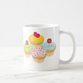 誕生日のカップケーキ コーヒーマグカップ
