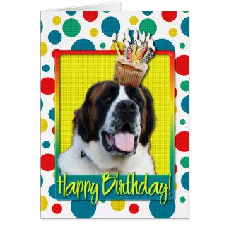 誕生日のカップケーキ-サンベルナール峠- Mae カード