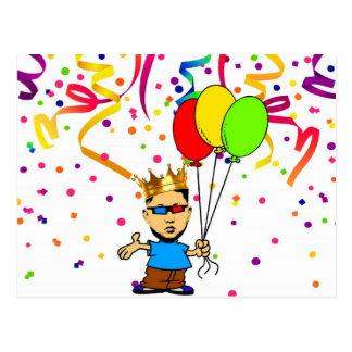 誕生日のスワッグ ポストカード
