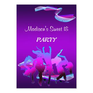 誕生日のダンスパーティー カード