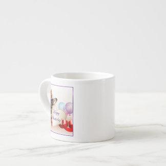 誕生日のチワワ犬 エスプレッソカップ