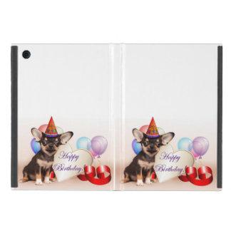 誕生日のチワワ犬 iPad MINI ケース