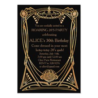 誕生日のパーティの招待状年齢 12.7 X 17.8 インビテーションカード