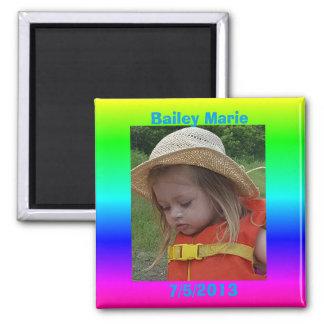 誕生日のメモ冷却装置写真の磁石 マグネット
