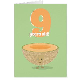 誕生日のメロン|のバースデー・カード カード