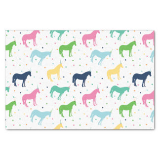 誕生日の子馬のティッシュペーパー 薄葉紙