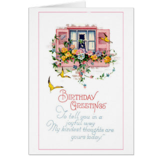誕生日の挨拶 カード