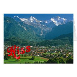 誕生日の挨拶- Jungfrauの範囲 カード