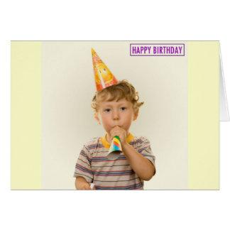 誕生日の男の子 カード