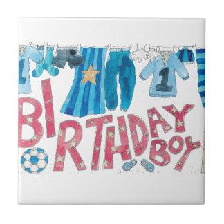 誕生日の男の子 タイル