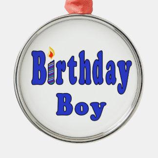 誕生日の男の子 メタルオーナメント