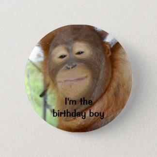 誕生日の男の子 5.7CM 丸型バッジ