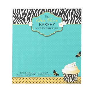 誕生日の蜂の小型メモ帳 ノートパッド