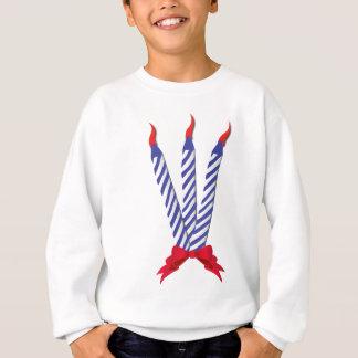 誕生日の蝋燭 スウェットシャツ