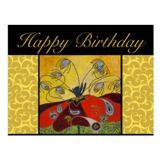 誕生日の郵便はがき-夜明けの絵画で気づかせて下さい ポストカード