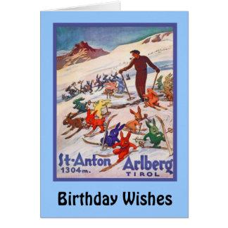 誕生日の願い、Stアントン、Arlberg カード