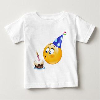 誕生日のemoji ベビーTシャツ