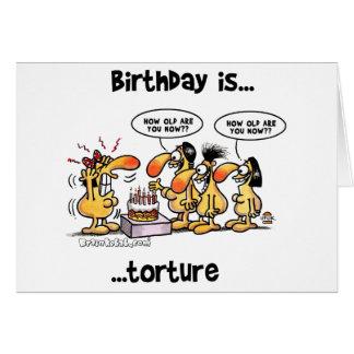 誕生日はあります… 苦悶 カード